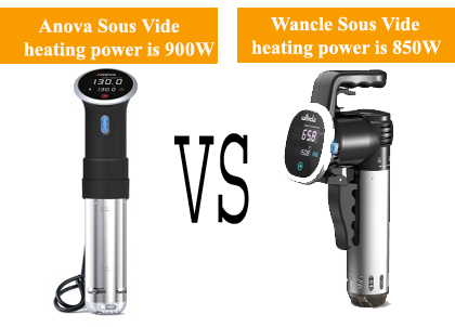Which is the best sous vide machine Anova or Wancle