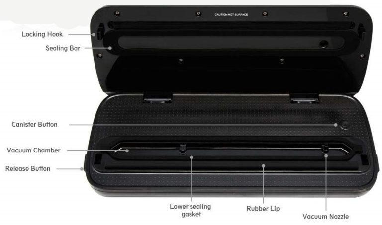 NutriChef Vacuum Sealer sealingbestreviewstar.com