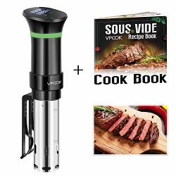 VPCOK Sous Vide Cooker Accurate Immersion Cooker Control
