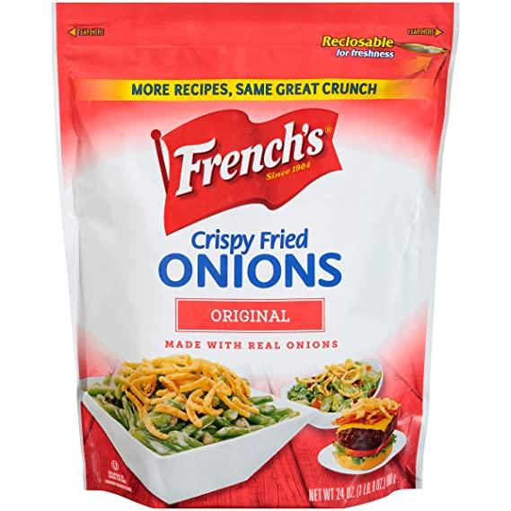 French crispy fried onion
