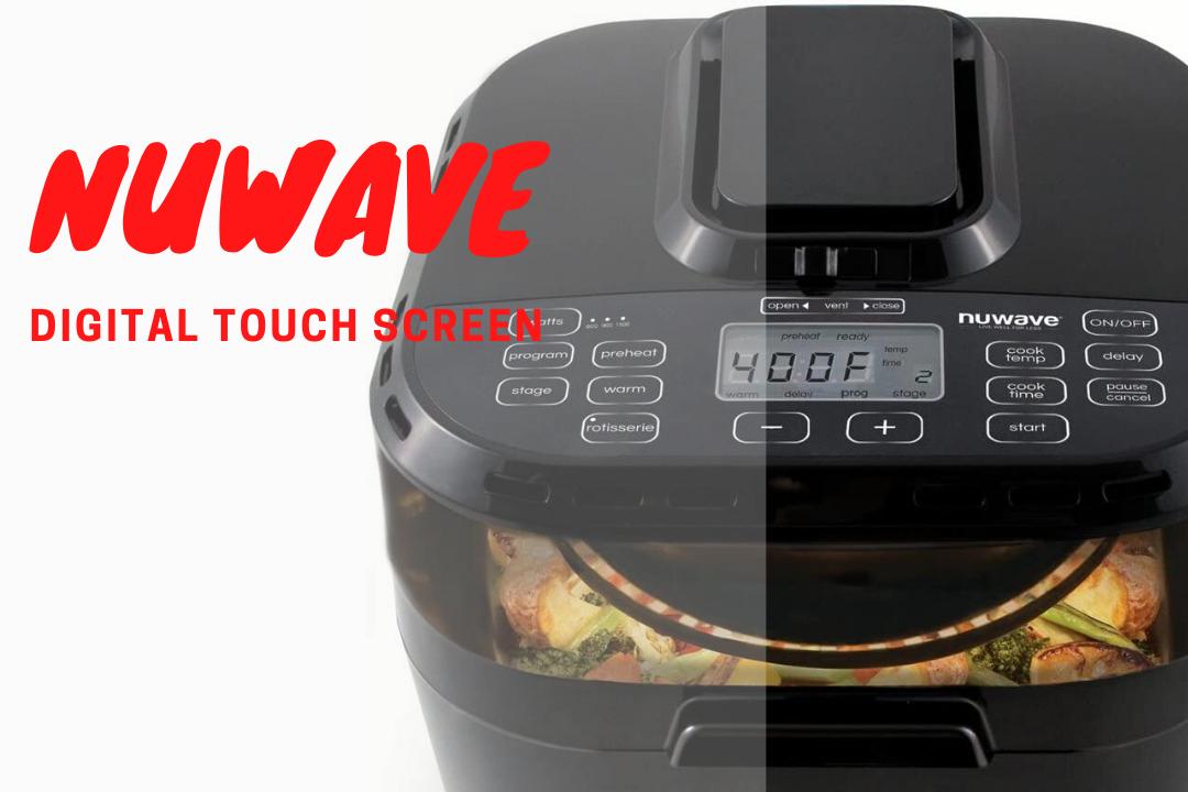 Nuwave-Digital touch screen