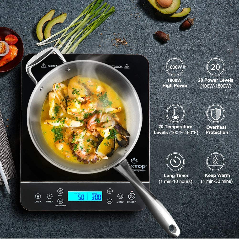 Duxtop - Portable Induction Stove Cook top