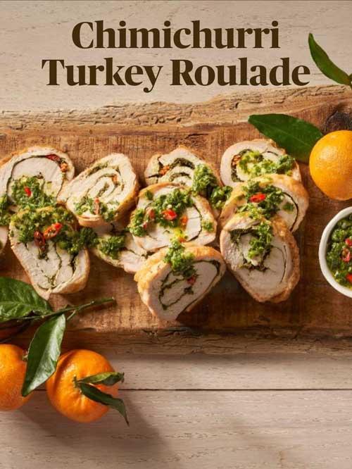 Sous Vide Turkey Roulad