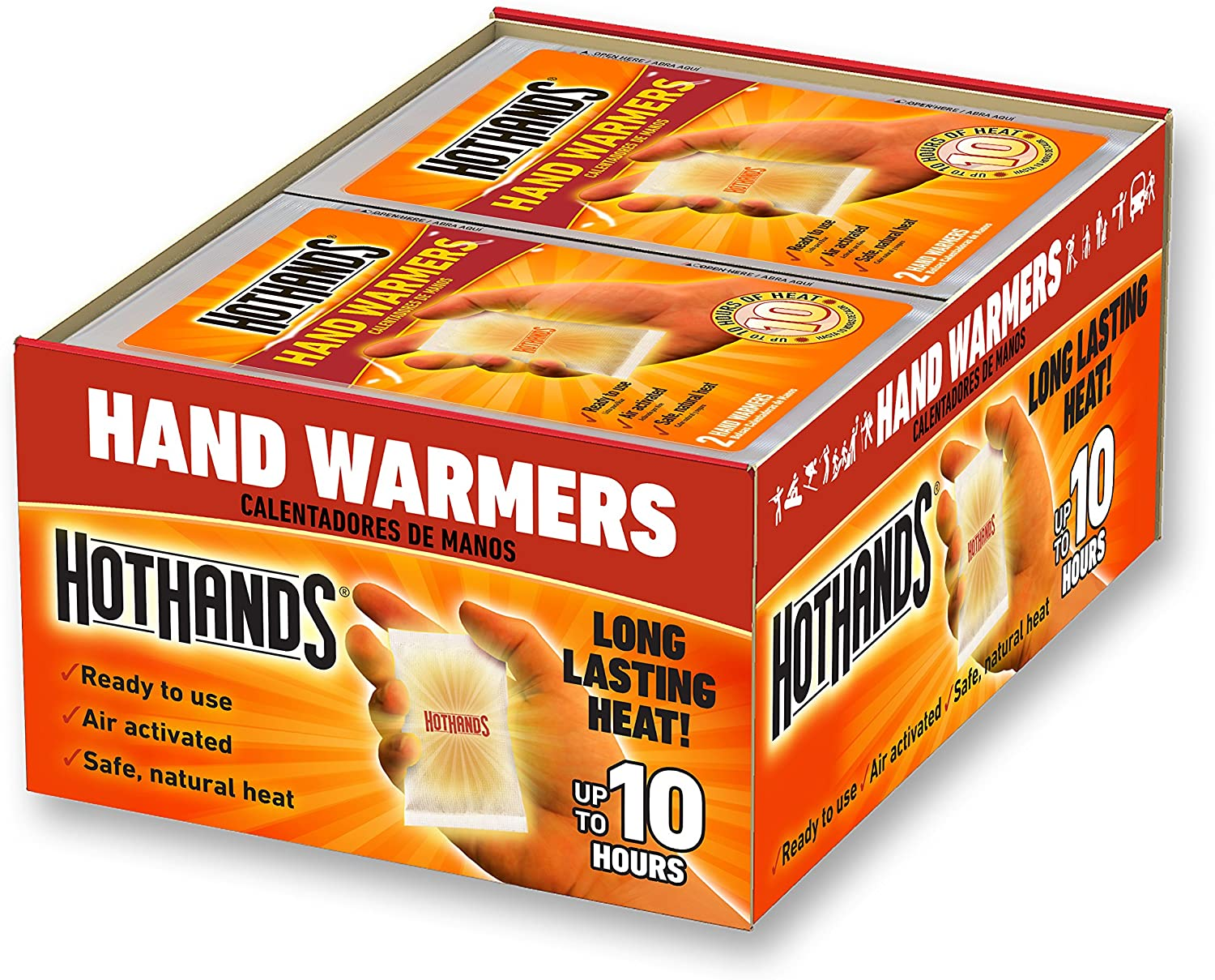 40 Pairs Instant Hand Warmers