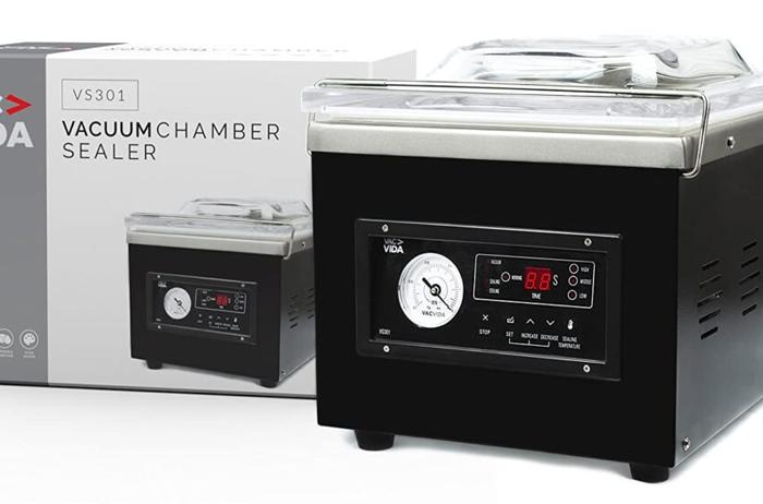 Successful VAC-VIDA VS301 Chamber Vacuum Sealer