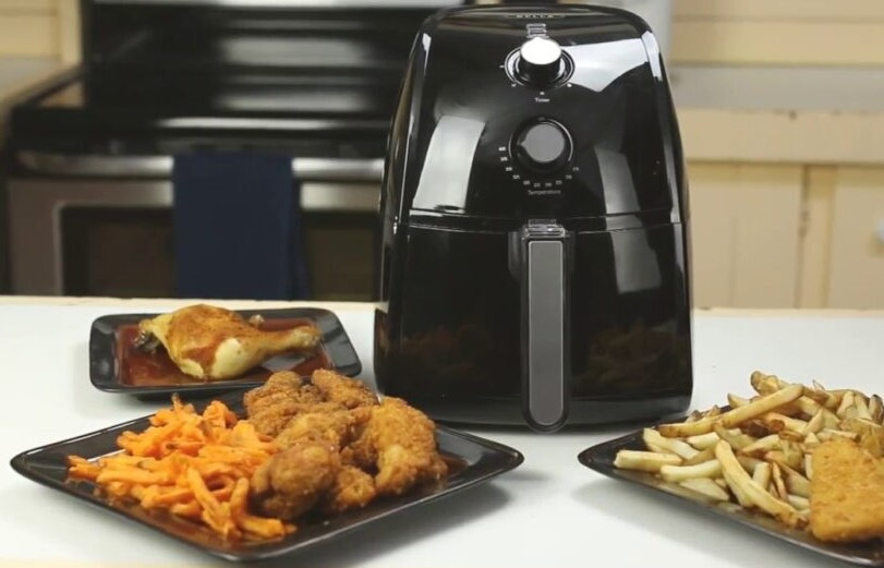 Bella Air Fryer Review: 2.6 Quart Cooking Basket with 2.2 lbs Capacity for cooking and Frying