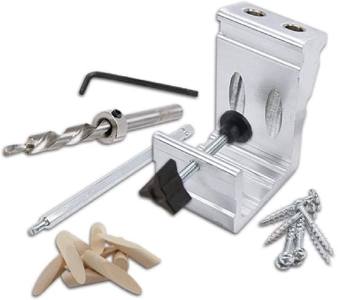 General Tools 850 Heavy Pocket Hole Jig Kit 