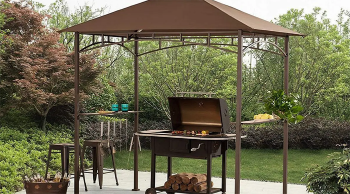 Best BBQ Grill Canopy for Outdoor Cooking in Patio Yards