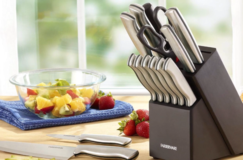 Best Farberware Knife Set Review [Fine Quality-Budegted]