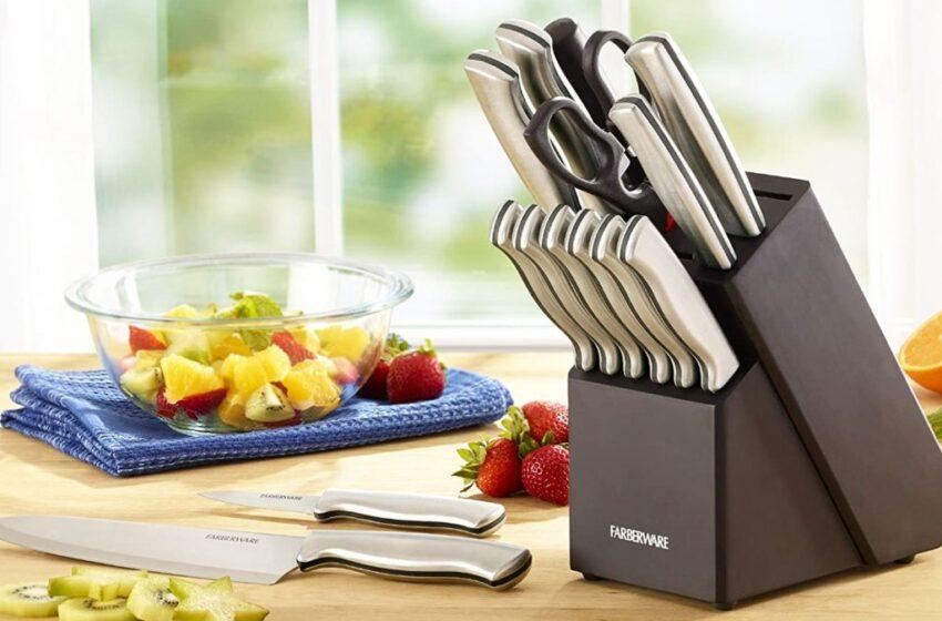 Farberware Knife Set Reviews [Kitchen Tool]